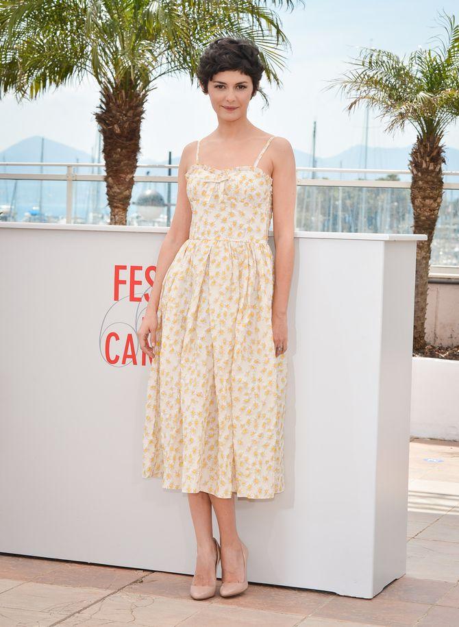 Festival de Cannes 2013 : Le photo call d'Audrey Tautou