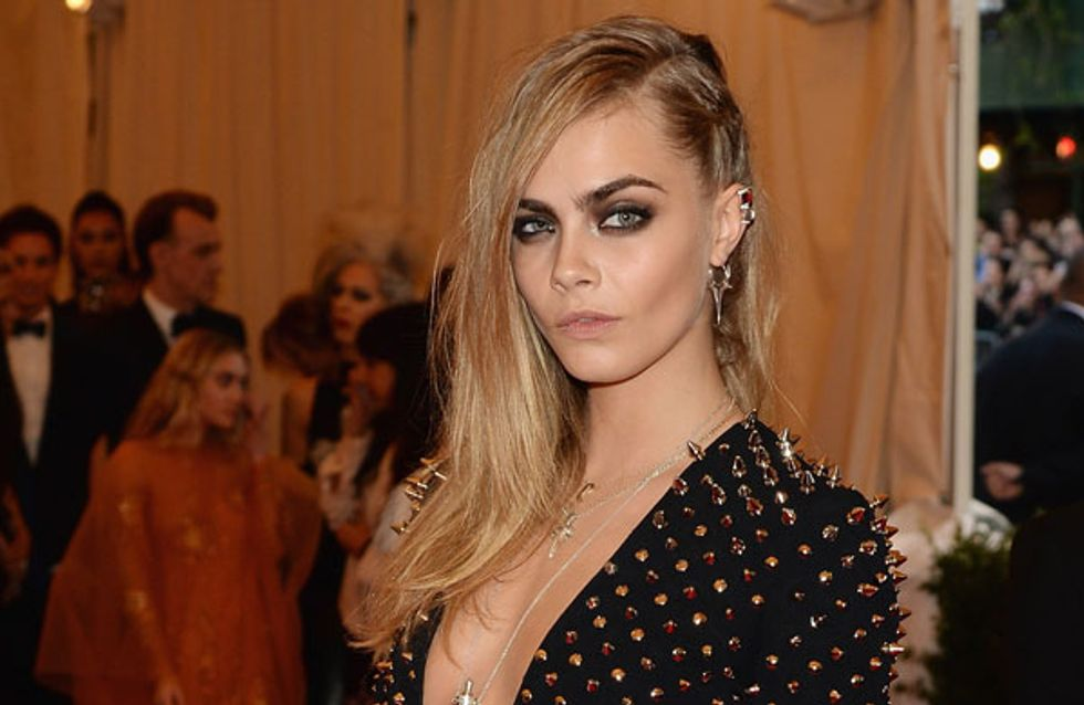 Cara Delevingne's naked shoot for Marc Jacobs campaign