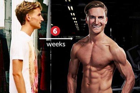 Oliver Proudlock's transformation
