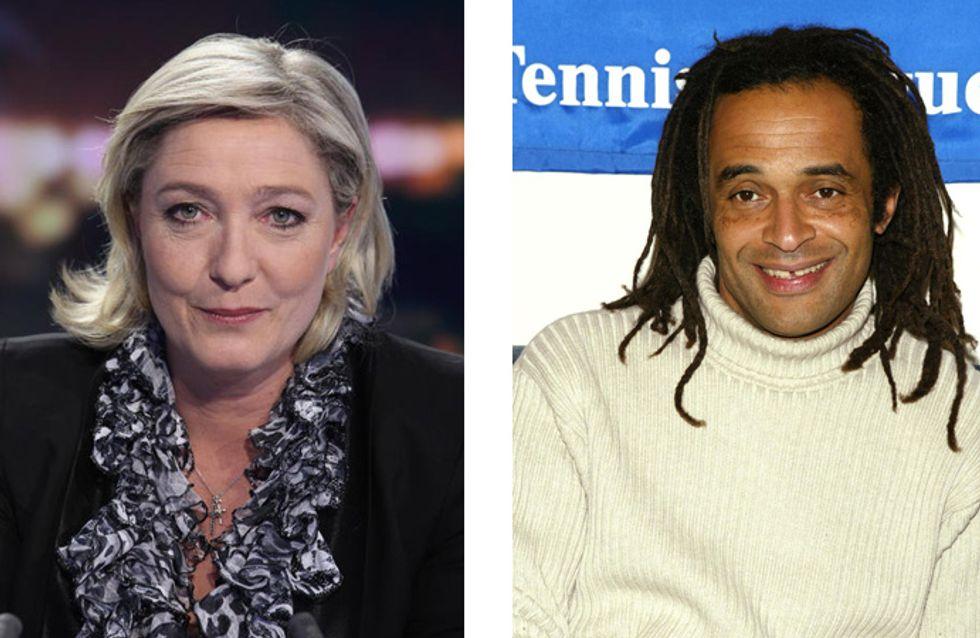 Marine Le Pen et Yannick Noah : Face à face au tribunal
