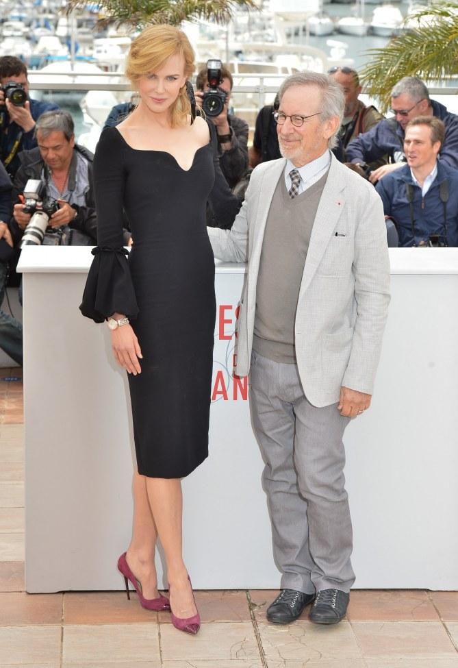 Nicole Kidman et Steven Spielberg au Festival de Cannes 2013