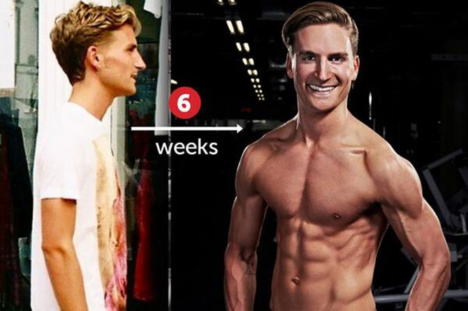 Oliver Proudlock's transformation