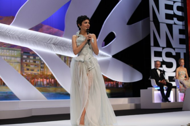 Audrey Tautou Cannes 2013 discours