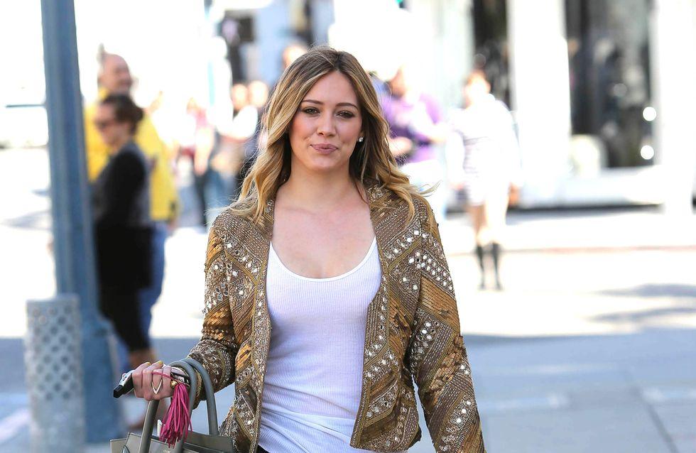 Hilary Duff : Un an pour retrouver la ligne après son accouchement