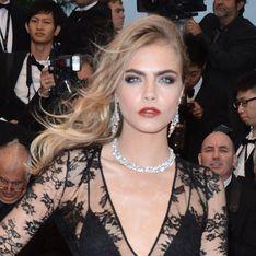 Cannes Film Festival 2013: Cara Delevingne suffers fake tan fail on rainy red carpet