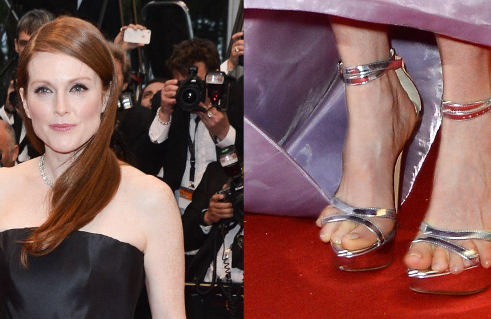 Julianne Moore : Ses orteils font le buzz au Festival de Cannes ! (Photos)