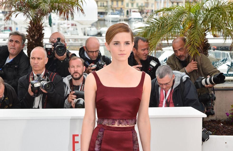 Festival de Cannes 2013 : Emma Watson et son look triste à pleurer