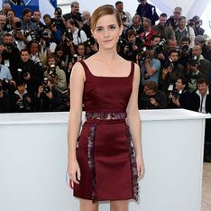 Emma Watson dazzles at Cannes in skirt and top combo
