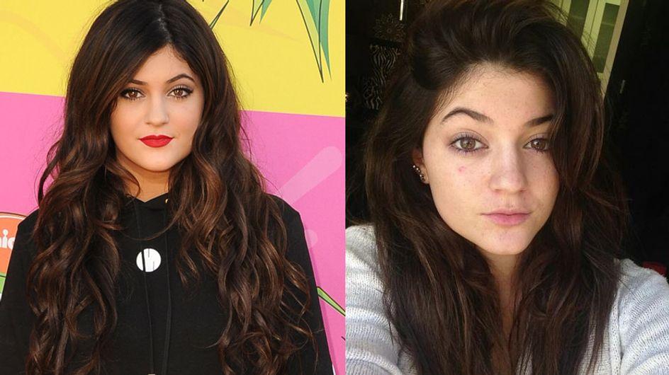 Kylie Jenner, sans maquillage !