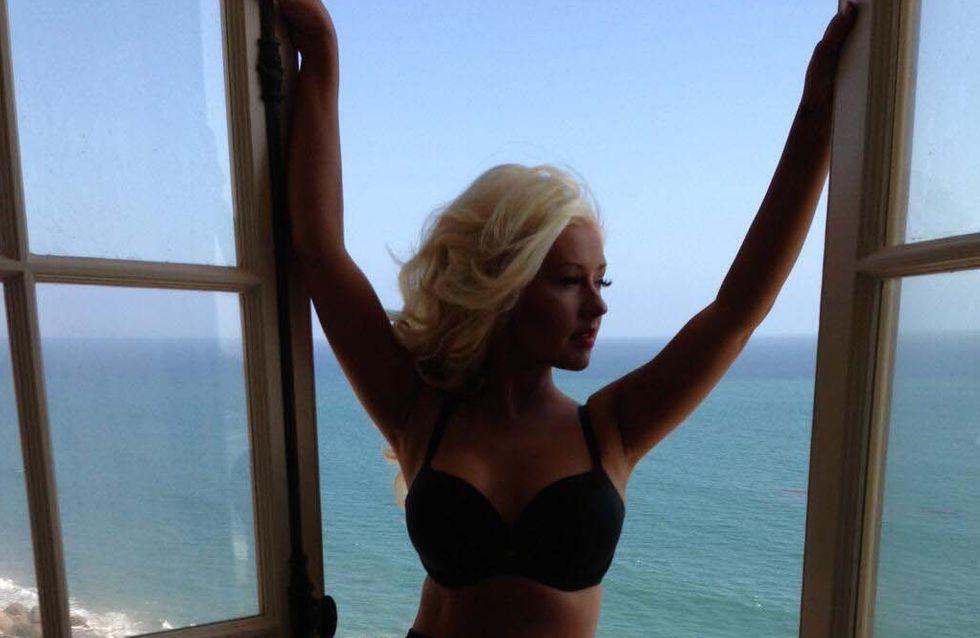Christina Aguilera : Elle a fondu (photo)