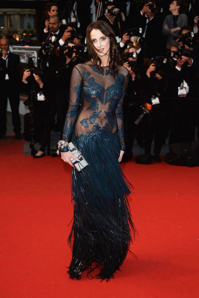 Frédérique Bel à Cannes