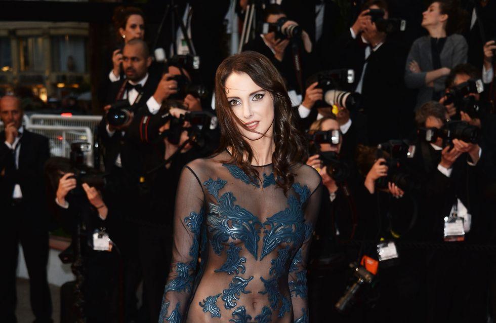 Frédérique Bel : Nue sous sa robe transparente (Photo)