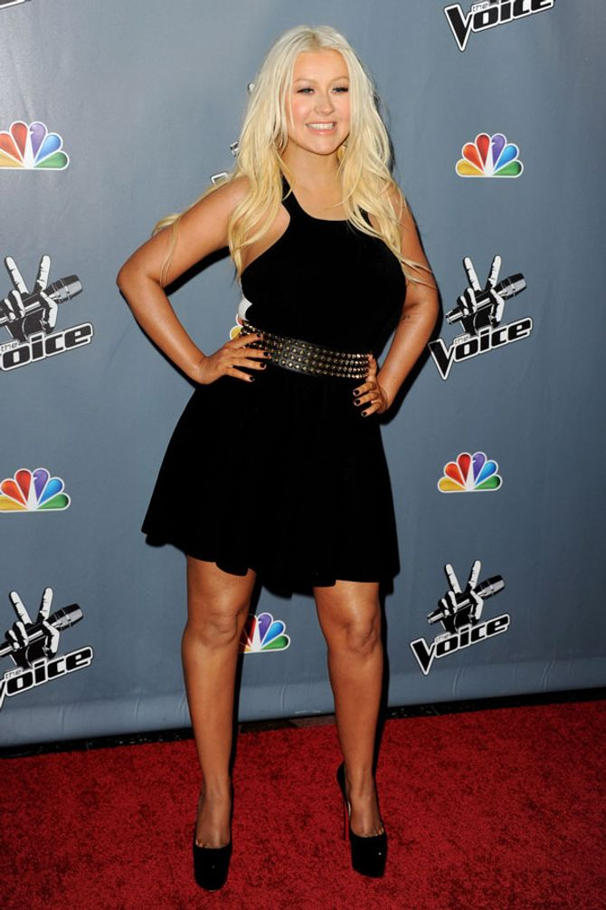 Christina Aguilera in March