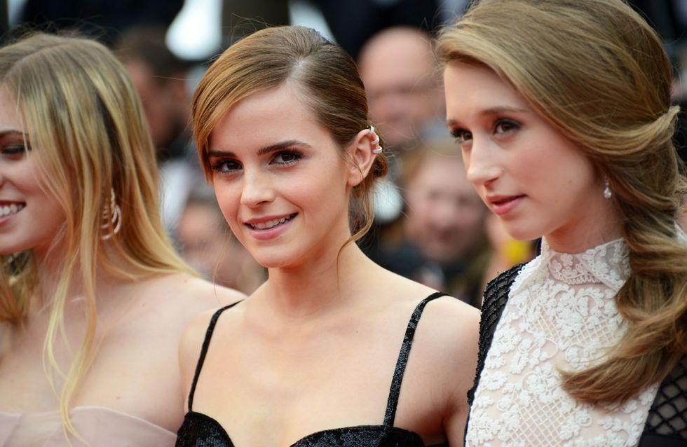 Festival de Cannes 2013 : Emma Watson chic et sexy pour monter les marches (photos)