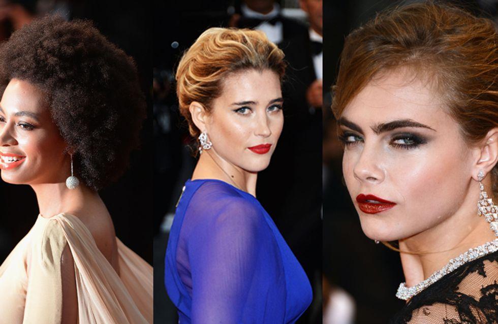 Festival de Cannes 2013 : Les coiffures de stars les plus glamours !
