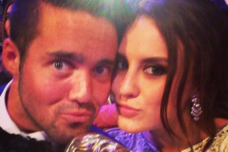 Spencer Matthews and Lucy Watson at the Baftas