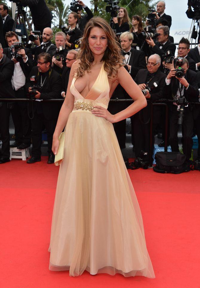 Laury Thilleman au Festival de Cannes