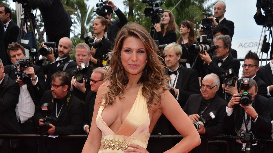 Festival de Cannes 2013 : Laury Thilleman, sans soutien-gorge, son décolleté fait rêver !