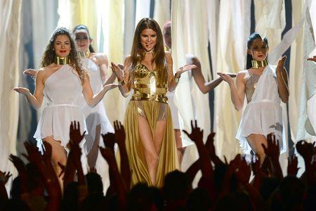 Selena Gomez at the Billboards