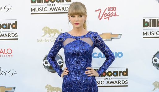 Taylor Swift at the Billboards
