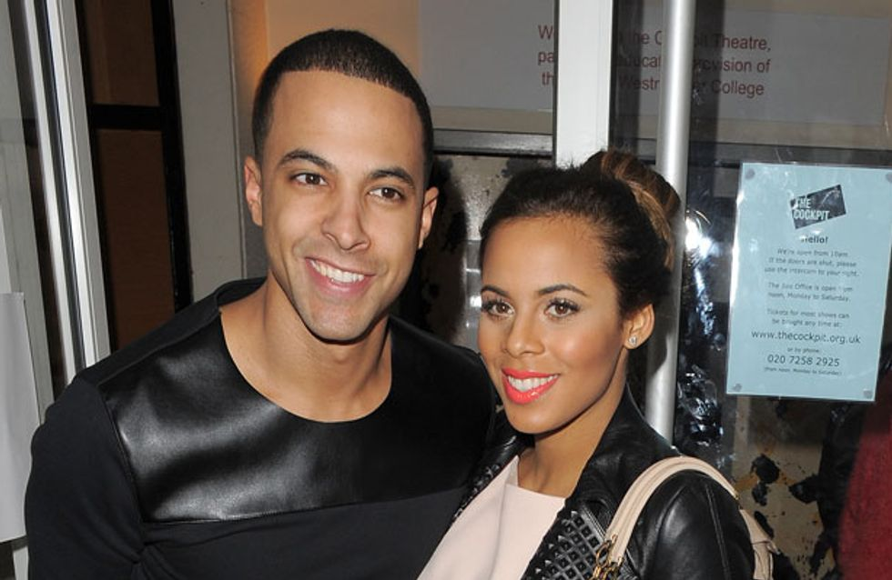 Rochelle and Marvin Humes welcome baby girl