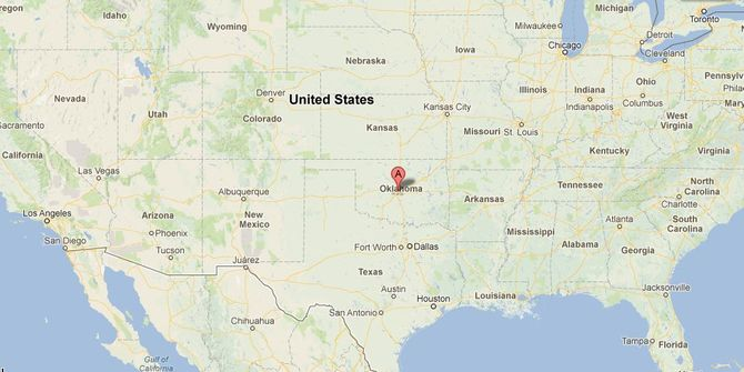 Une tornade dans l'Oklahoma