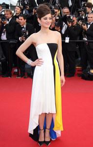 Marion Cotillard en robe Dior