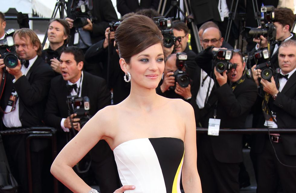 Festival de Cannes 2013 : Marion Cotillard chic en robe graphique (photos)