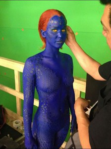 Jennifer Lawrence dans X-Men