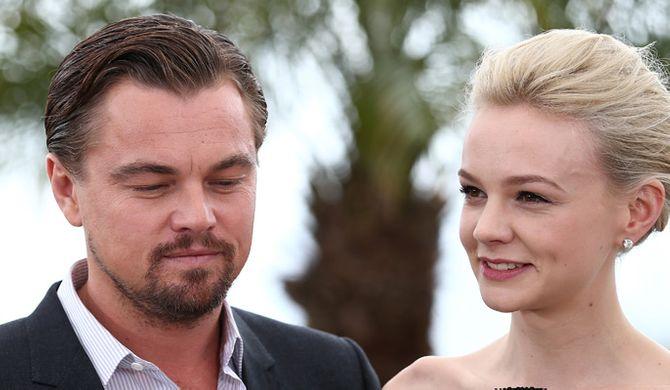 Leonardo DiCaprio and Carey Mulligan in Cannes