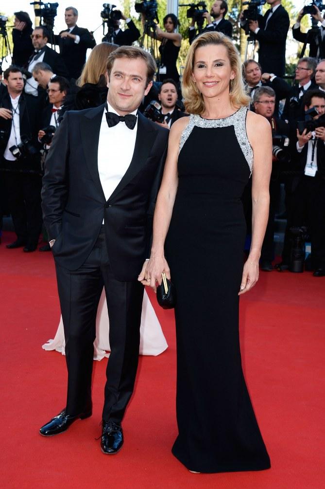 Laurence Ferrari au festival de Cannes 2013