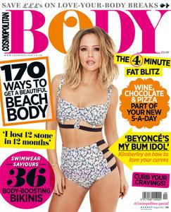 Kimberley Walsh for Cosmopolitan Body