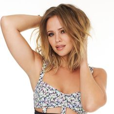 Kimberley Walsh talks dieting as she shows off her amazing bikini body