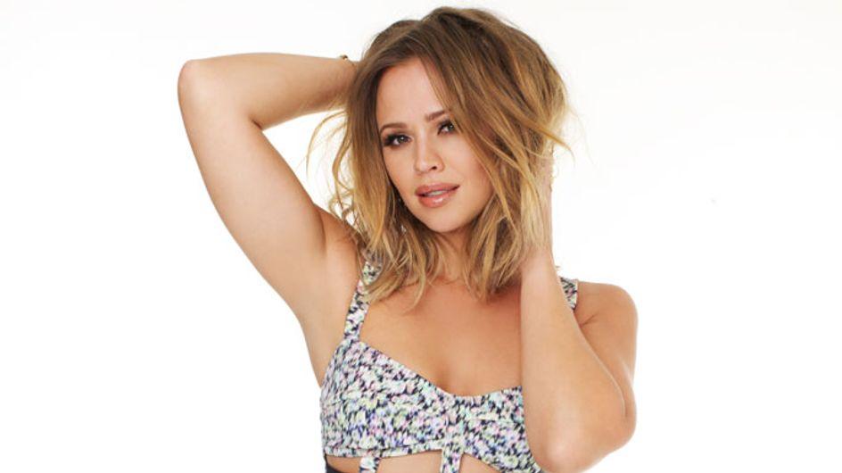 Kimberley Walsh talks dieting as she shows off her amazing bikini body