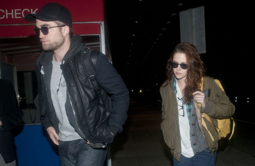 "Robert Pattinson moves out after ""finding texts from Rupert Sanders on Kristen Stewart's phone"""