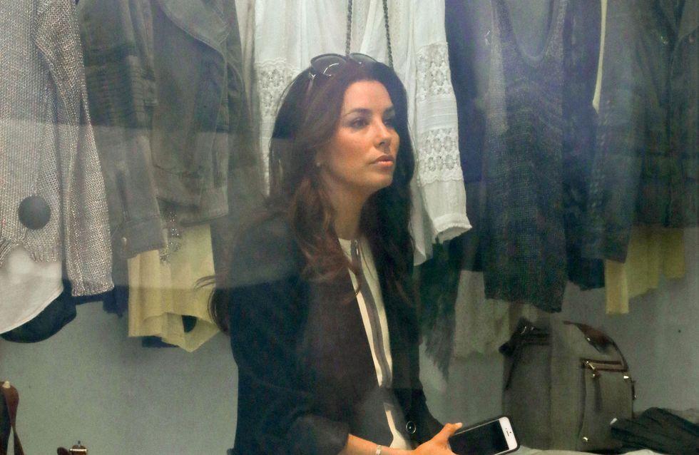 Eva Longoria : Découvrez son shopping chez Zadig et Voltaire