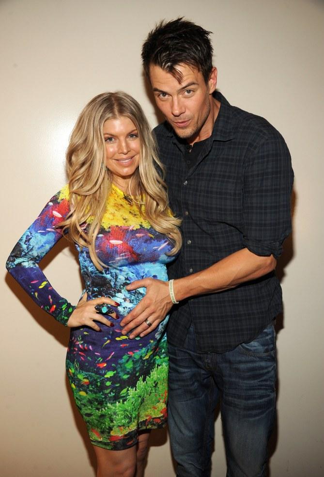 Fergie enceinte