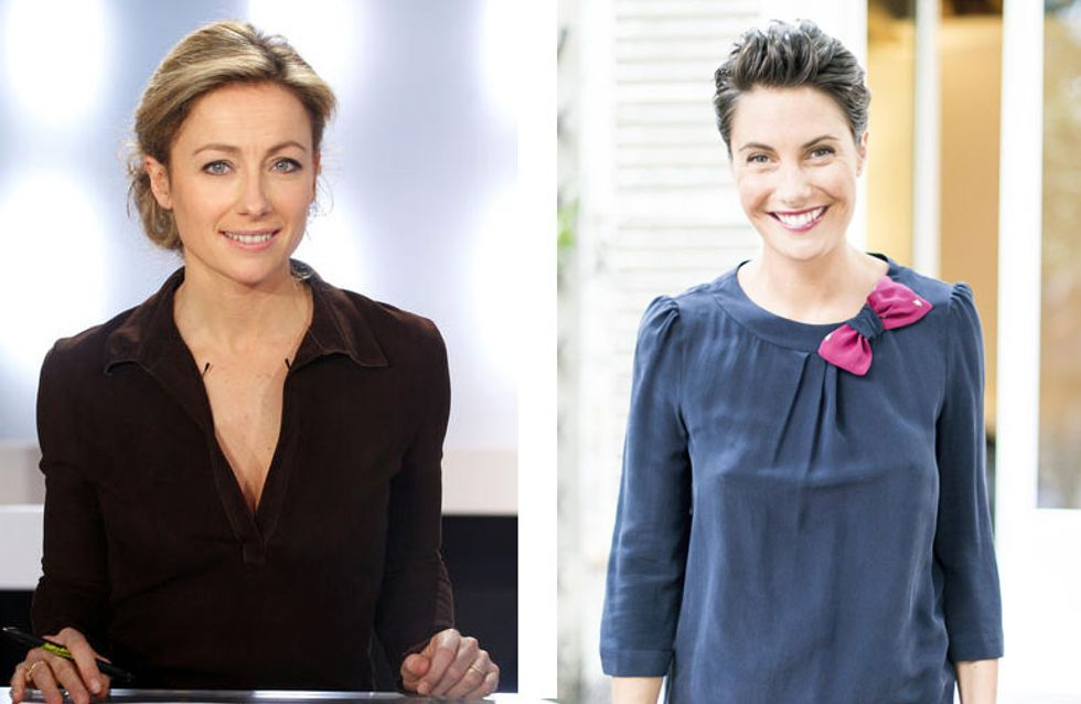 Anne-Sophie Lapix remplacera Alessandra Sublet dans C à vous