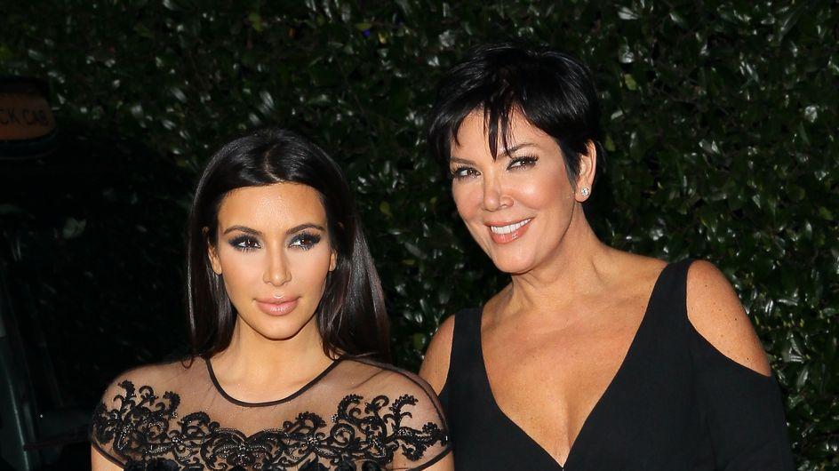 Kim Kardashian à Paris : Moment romantique avec... maman ! (Vidéo)
