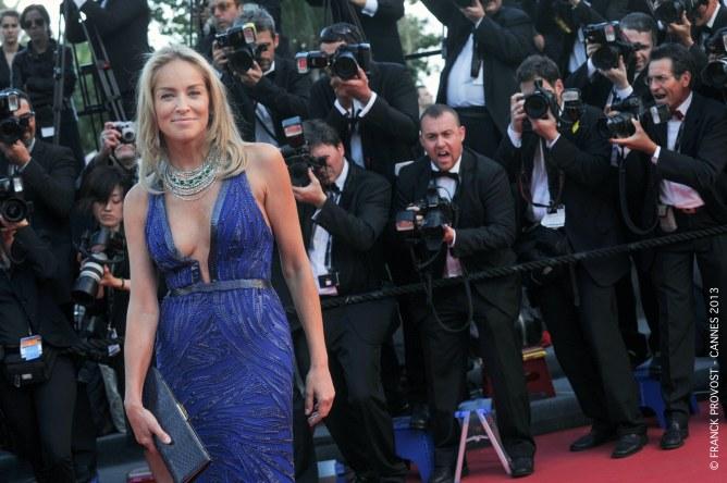 Sharon Stone au Festival de Cannes 2013