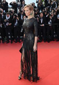 Adriana Karembeu au Festival de Cannes 2013