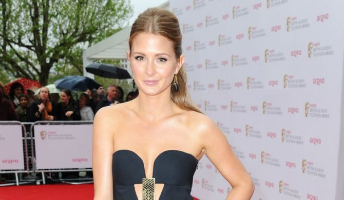 Millie Mackintosh at the Baftas