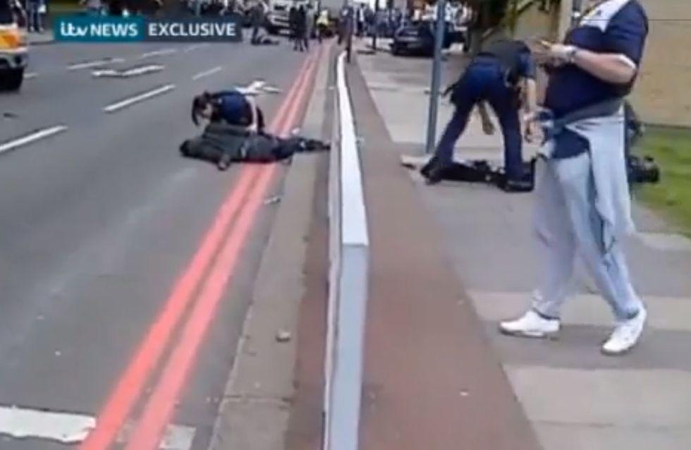 Londres : Assassinat sanglant en pleine rue (vidéo)