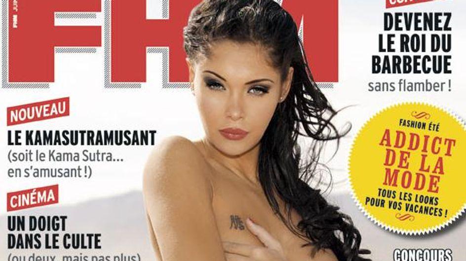 Nabilla : Seins nus pour FHM (photo)