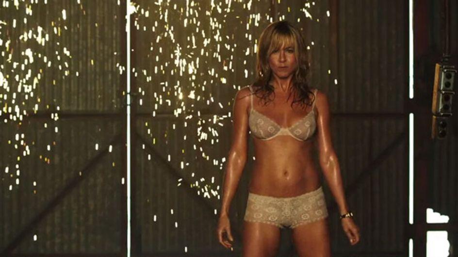 Jennifer Aniston new movie trailer: Actress strips down to her underwear