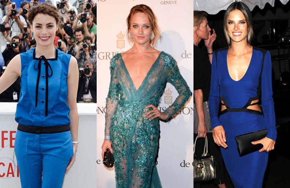 Festival de Cannes 2013 : Toutes les stars en bleu ! (Photos)