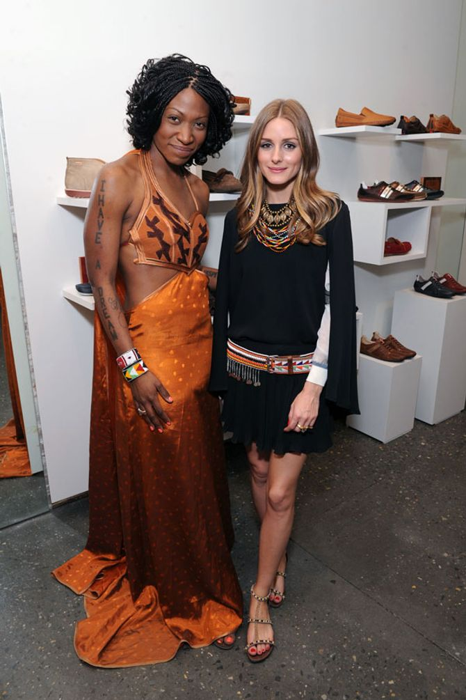 Olivia Palermo: Her latest fashion project