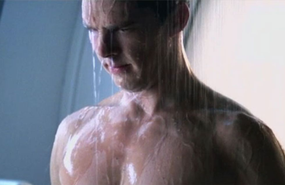 Benedict Cumberbatch topless shower scene cut out of Star Trek: Into Darkness