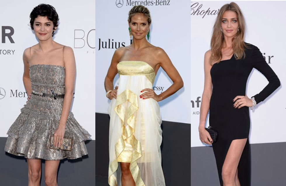 Festival de Cannes 2013 : Les plus belles robes de l'amfAR (Photos)