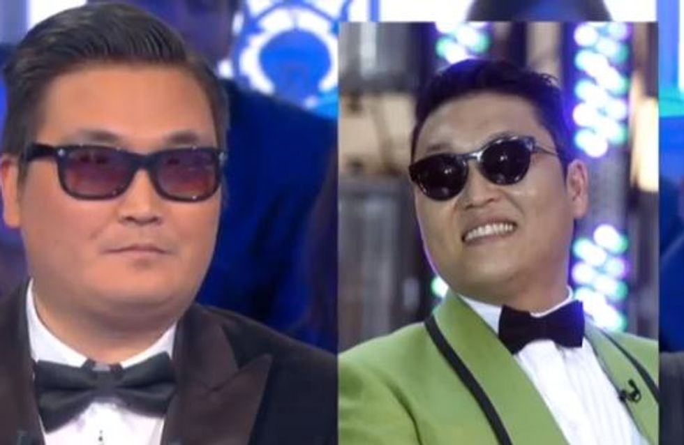 Festival de Cannes 2013 : Le sosie de PSY fait illusion (Photos)